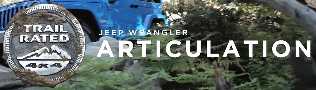 Trail Rated | Jeep Wrangler JK Articulation