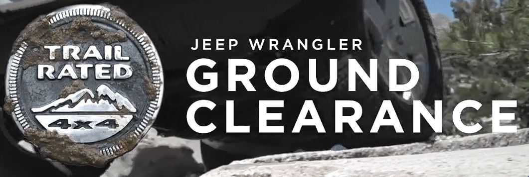 Trail Rated | Jeep Wrangler JK Ground Clearance